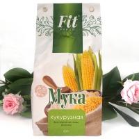 Мука кукурузная FitParad 500 г