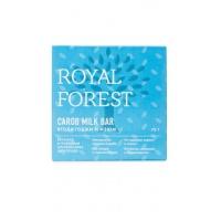 Шоколад из кэроба с ягодой годжи и изюмом, Royal Forest, 75 г.