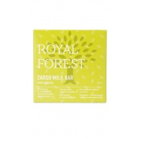 Шоколад из кэроба с миндалем, Royal Forest, 75 г.