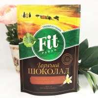 """Какао (горячий шоколад) со вкусом ванили без сахара """"Фит Парад"""" 200 гр"""