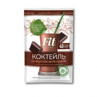 "Коктейль белковый ""ФитПарад"" со вкусом шоколада"