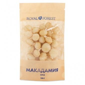 Макадамский орех (макадамия) сырой очищенный, 100 г