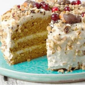 Карамельный пп торт