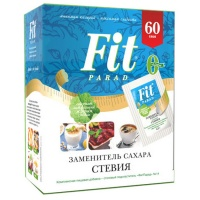 Сахарозаменитель Fit Parad (ФитПарад) N14, саше 60 пакетиков, 30 грамм