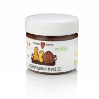 """Шоколадная арахисовая паста с кешью, арахисом и кокосом """"Шоколадный микс"""" Nutbutter (Натбаттер) 300 г"""